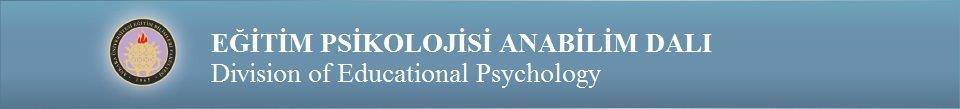 Eğitim Psikolojisi Anabilim Dalı